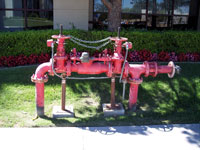 Fire backflow testing in Orange County