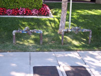 Irrigation backflow prevention testing in Yorba Linda